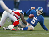 vs Bills, game 12, 2003 Regular Season